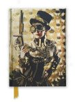 Steampunk Lady Foiled Notebook